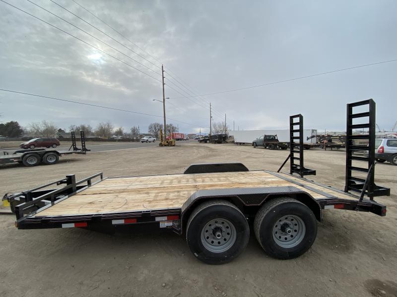2020 DIAMOND T TRAILER 83-HD16SkidProEquipmentHauler Flatbed Trailer