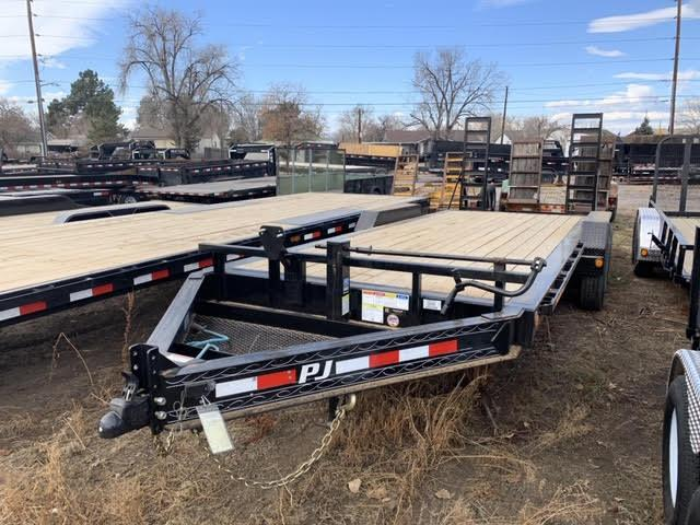 2020 PJ TRAILERS 83-HD208Ks Flatbed Trailer