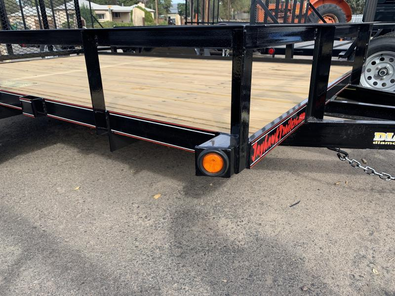 2020 DIAMOND T TRAILER 6-10RampGateUtility Flatbed Trailer