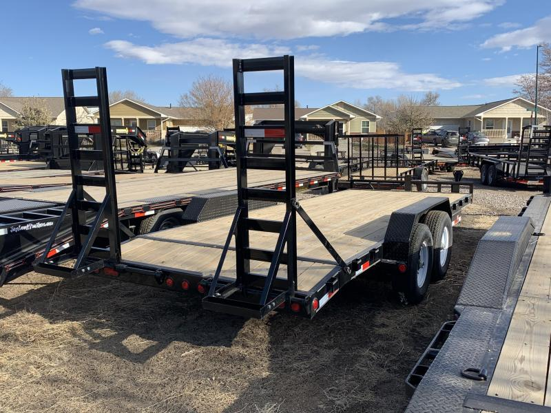 2020 PJ TRAILERS 83-HD20EquipmentHauler Flatbed Trailer