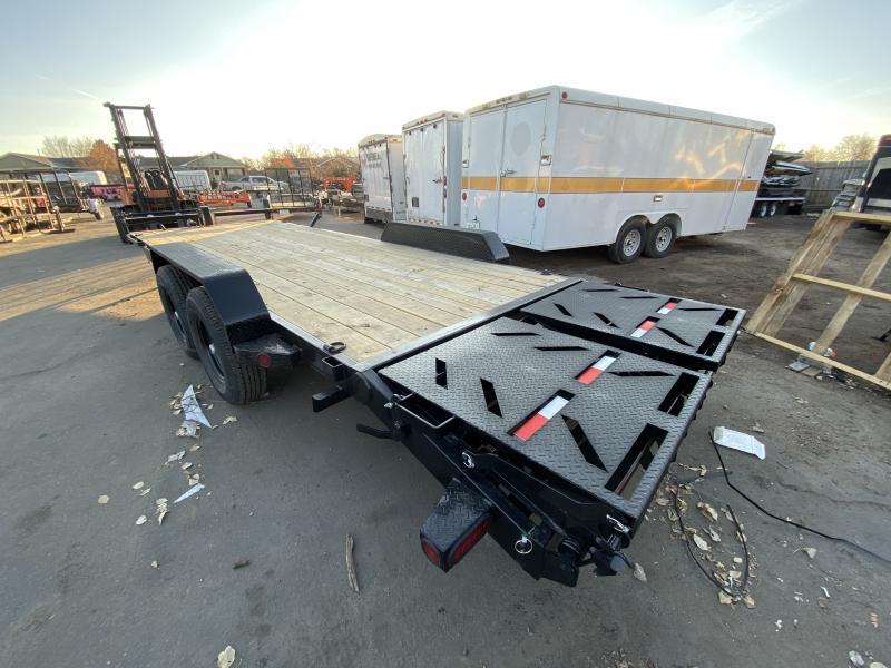 2020 NORSTAR 83-HD22EquipmentHauler Flatbed Trailer