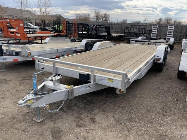 2019 QUALITY STEEL AND ALUMINUM PRODUCTS 83-20CarhaulerAluminum Flatbed Trailer