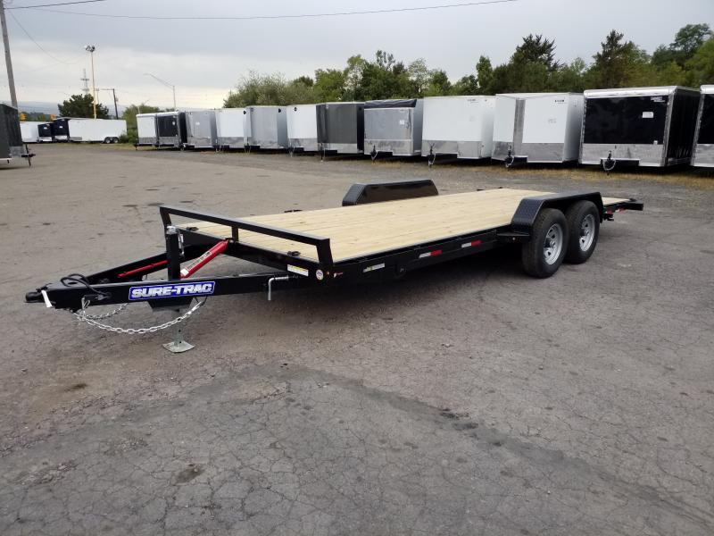 2020 Sure-Trac 7X20 10K TILT Car / Racing Trailer