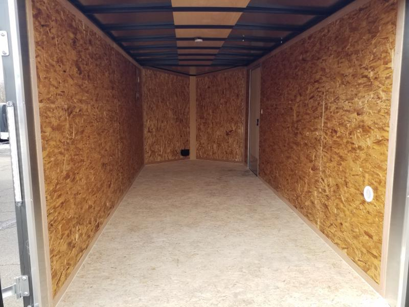 2021 Cargo Express EX 7X16 EXTRA HEIGHT - BARNS Enclosed Cargo Trailer