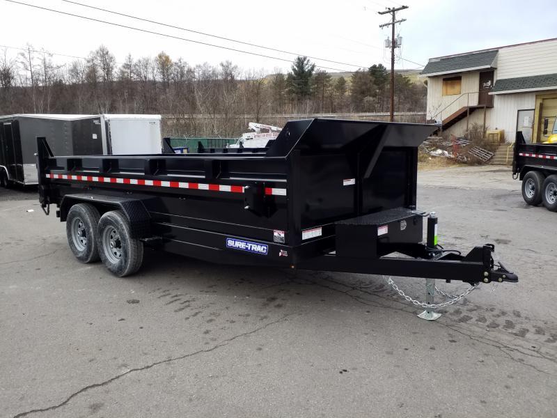 2020 Sure-Trac 7X16 14K SCISSOR - RAMPS Dump Trailer