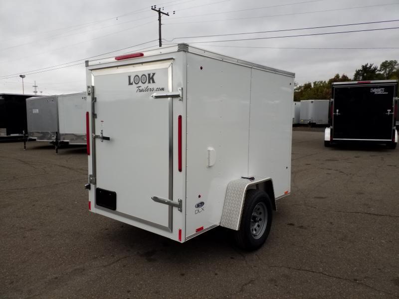 2020 Look Trailers STLC 5X8 DLX BARN DOOR Enclosed Cargo Trailer