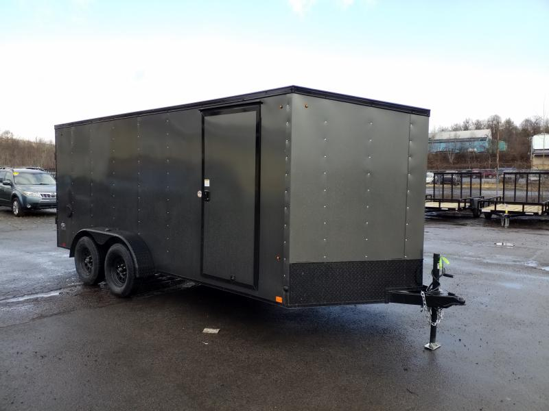 2020 Look Trailers STLC 7X16 BLACKED OUT Enclosed Cargo Trailer
