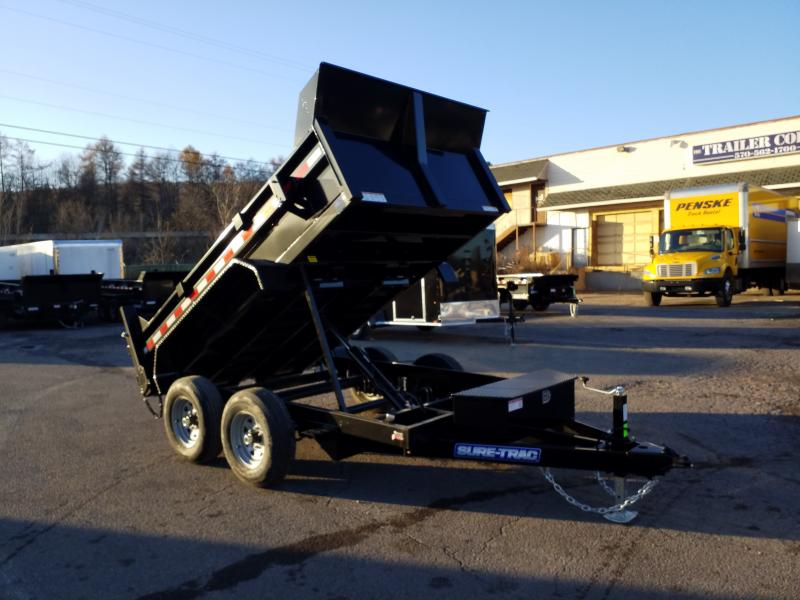 2020 Sure-Trac 6X10 10K RAMPS Dump Trailer