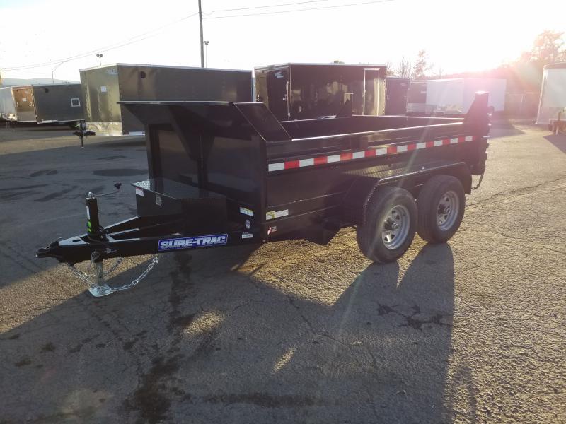 2020 Sure-Trac 6X10 10K RAMPS Dump Trailer