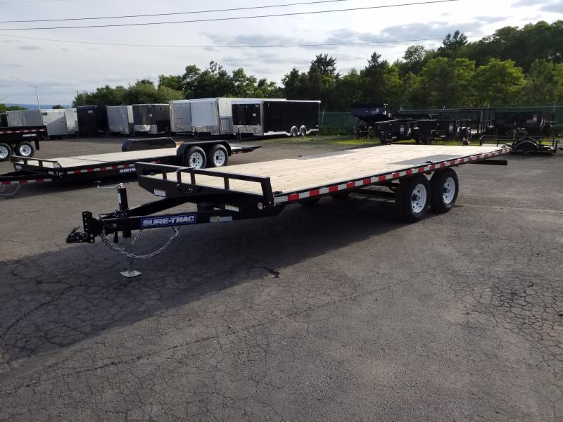 2019 Sure-Trac 20 10K DECKOVER Flatbed Trailer