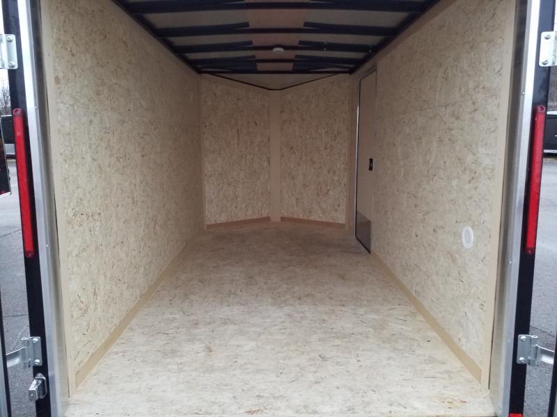 2020 Look Trailers STLC 6X12 BARN DOORS Enclosed Cargo Trailer