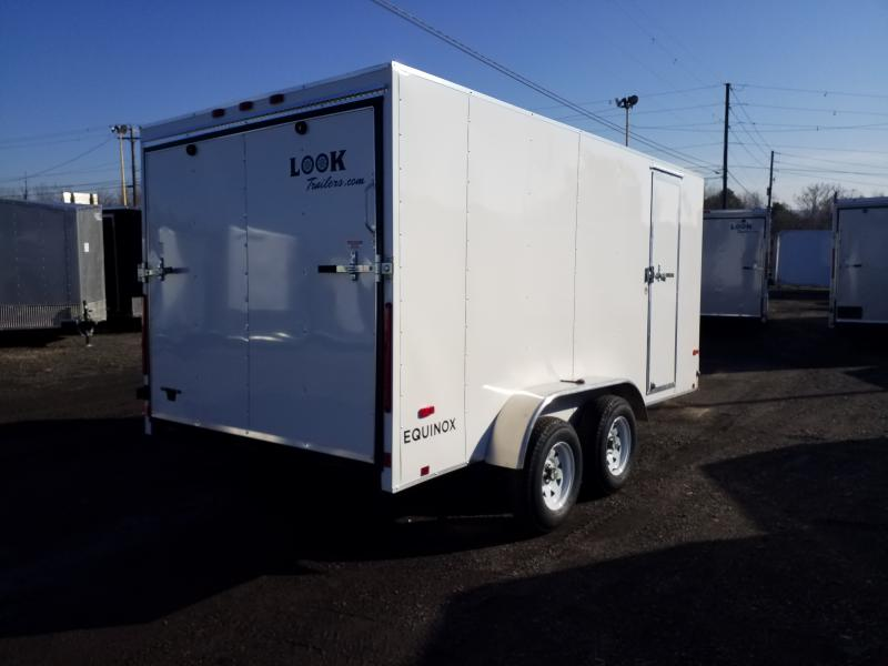 2020 Look Trailers EQUINOX 7X14 RAMP DOOR Enclosed Cargo Trailer