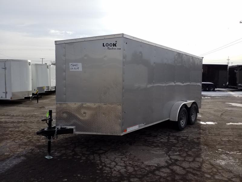 2021 Look Trailers STLC 7X16 RAMP DOOR Enclosed Cargo Trailer