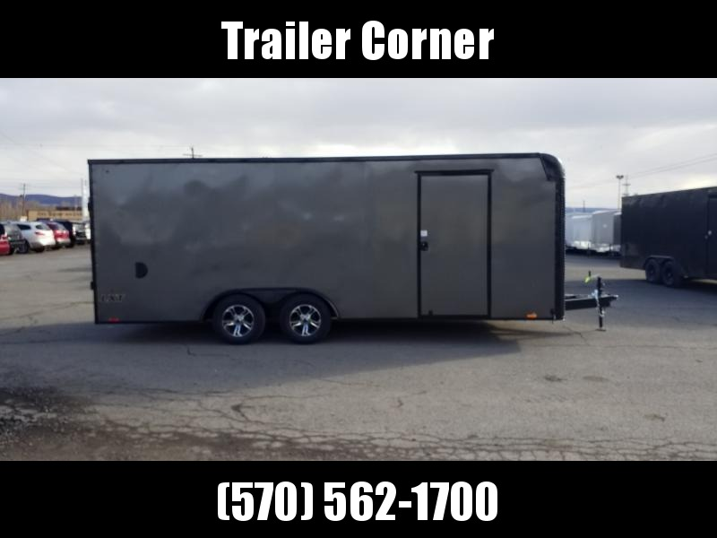2021 Look Trailers LXT 8.5X20 7K BLACKED OUT Car / Racing Trailer