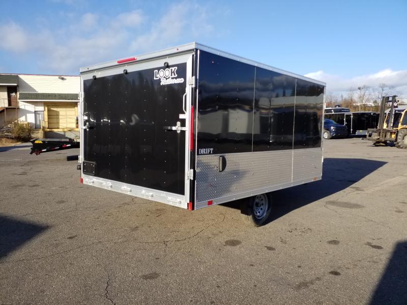 2020 Look Trailers AEDFT 8.5X12 ALUMINUM Snowmobile Trailer