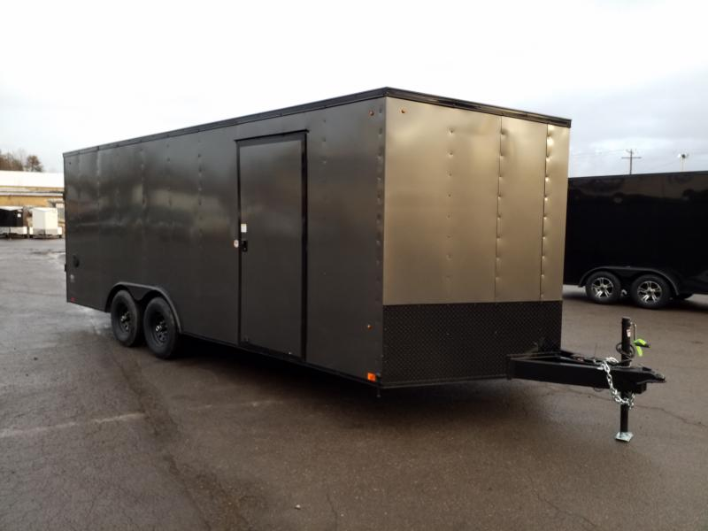 2020 Look Trailers ST 8.5X20 10K DLX BLACKED OUT Car / Racing Trailer