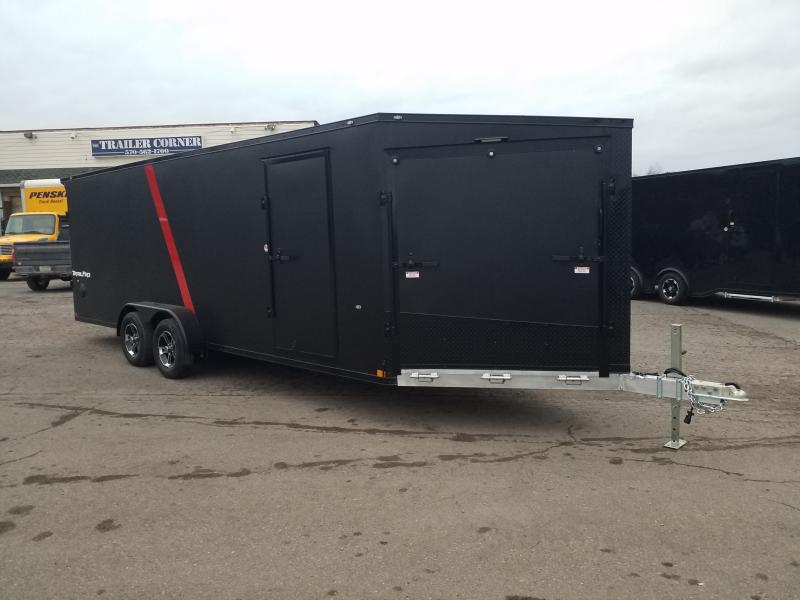 2020 Formula FASQ 7X27 ALUM BLACKED OUT Snowmobile Trailer