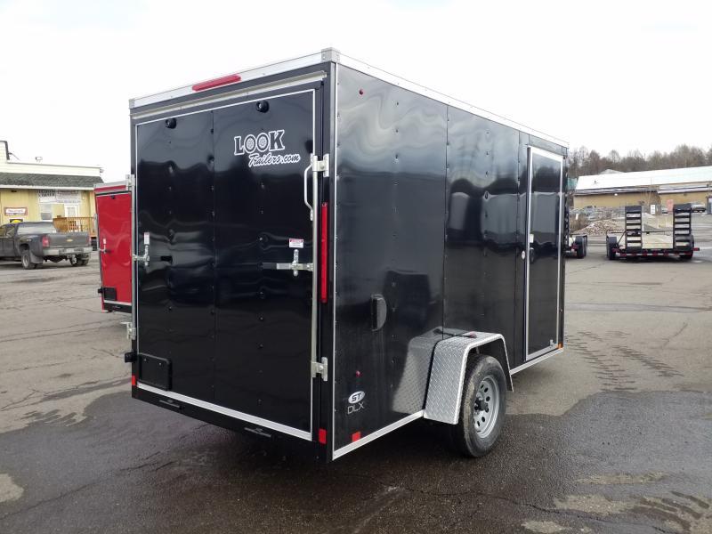 2020 Look Trailers STLC 6X12 RAMP-JACKS Enclosed Cargo Trailer