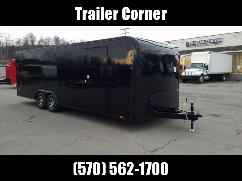 2021 Look Trailers LXT 8.5X24 10K BLACKED OUT Car / Racing Trailer
