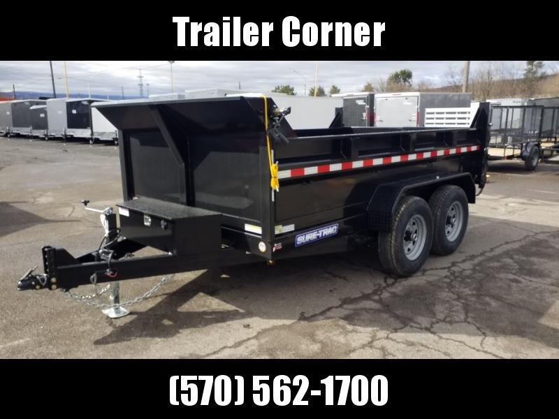 2020 Sure-Trac 7X12 14K RAMPS-TARP Dump Trailer