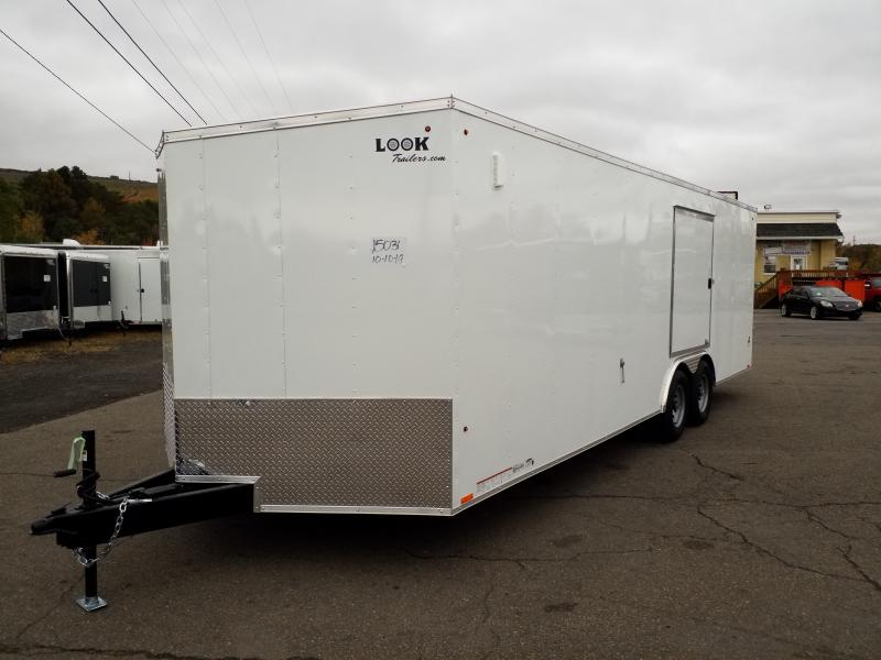 2020 Look Trailers ST 8.5X24 10K DLX ESCAPE DOOR Car / Racing Trailer