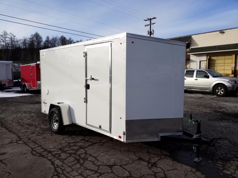 2020 Look Trailers STLC 6X12 RAMP-VENT-JACKS Enclosed Cargo Trailer