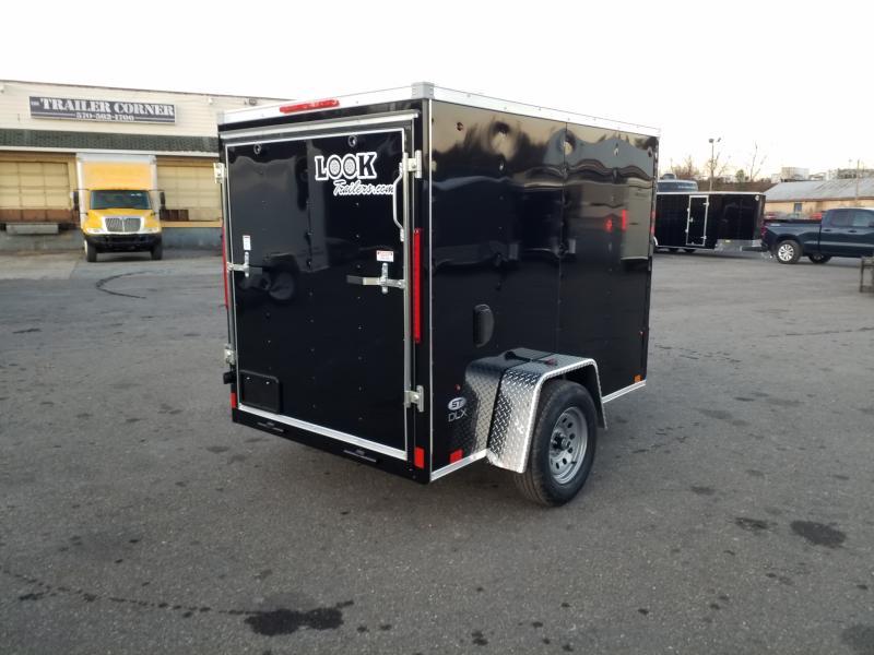 2020 Look Trailers STLC 5X8 RAMP DOOR Enclosed Cargo Trailer