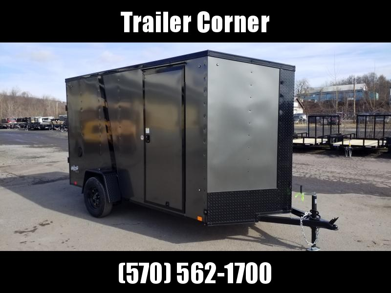 2021 Pace American OB 6X12 BLACKED OUT Enclosed Cargo Trailer