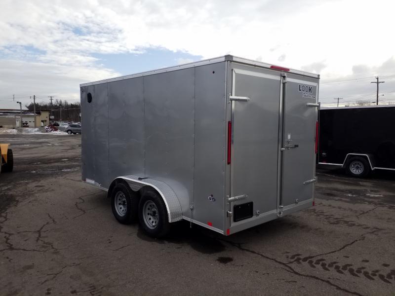 2021 Look Trailers STLC 7X14 EXTRA HEIGHT BARN DOOR  Enclosed Cargo Trailer