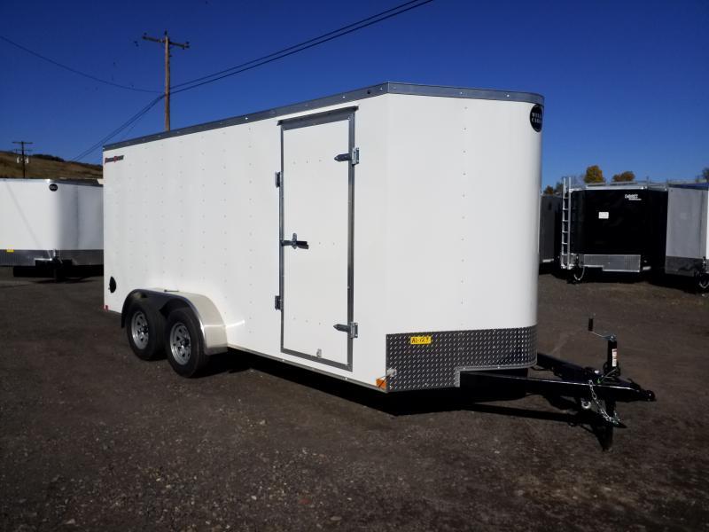 2020 Wells Cargo FT 7X16 RAMP DOOR Enclosed Cargo Trailer