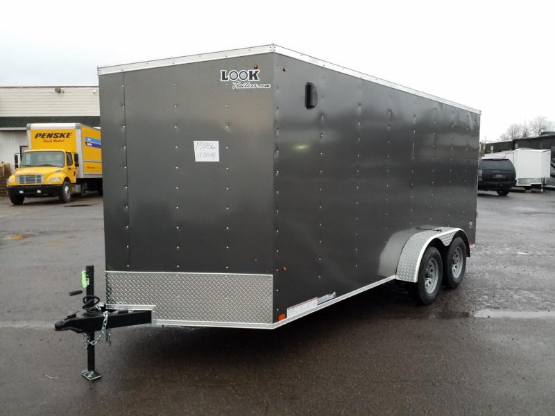 2020 Look Trailers STLC 7X16 EXTRA HEIGHT Enclosed Cargo Trailer