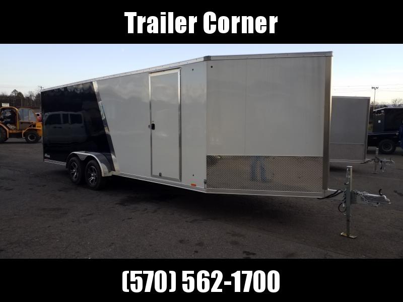 2020 Cargo Express CASQ 7X27 ALUMINUM Snowmobile Trailer