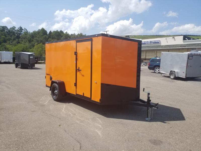2020 Formula TRIUMPH  6X12 BLACK OUT Enclosed Cargo Trailer