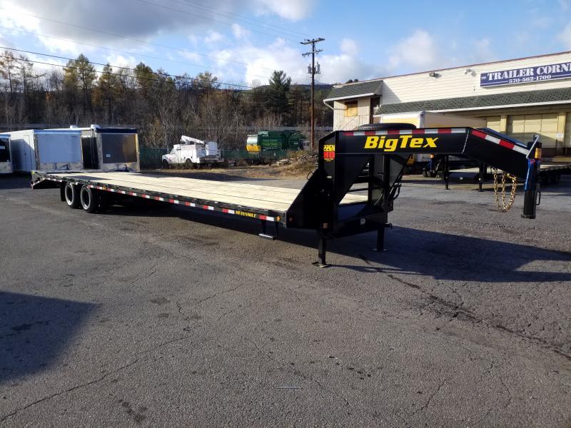 2020 Big Tex Trailers 22GN-355 MEGA RAMPS Flatbed Trailer