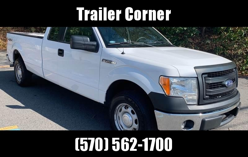 2014 Ford F150 SUPERCAB 4X4 Truck
