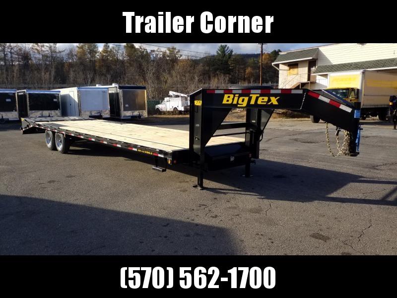 2020 Big Tex Trailers 16GN-255 MEGA RAMPS Flatbed Trailer