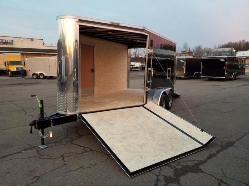 2020 Pace American PBFS 7X17 UTV HEIGHT Snowmobile Trailer