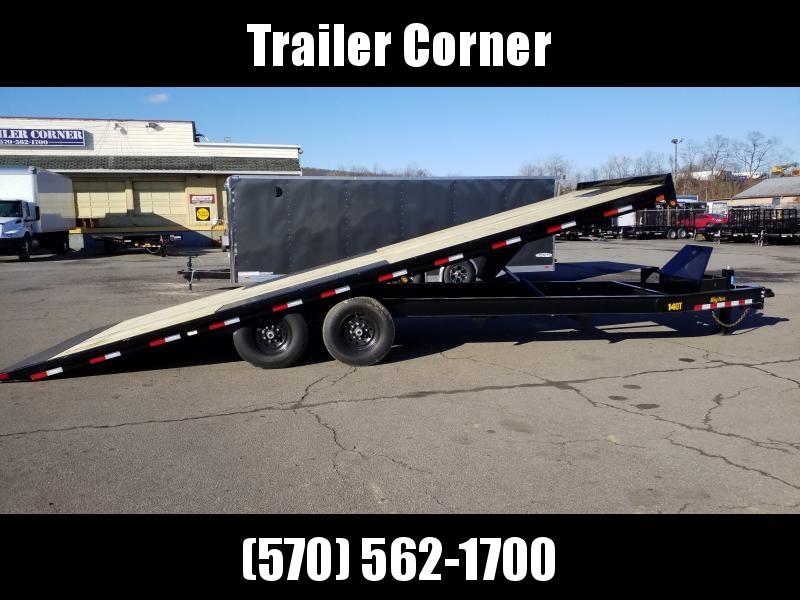 2020 Big Tex Trailers 14OT-24 POWER TILT Flatbed Trailer