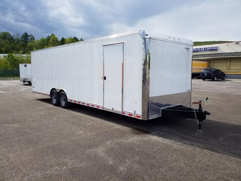 2020 Look Trailers ILRT 8.5X28 12K LOADED Car / Racing Trailer