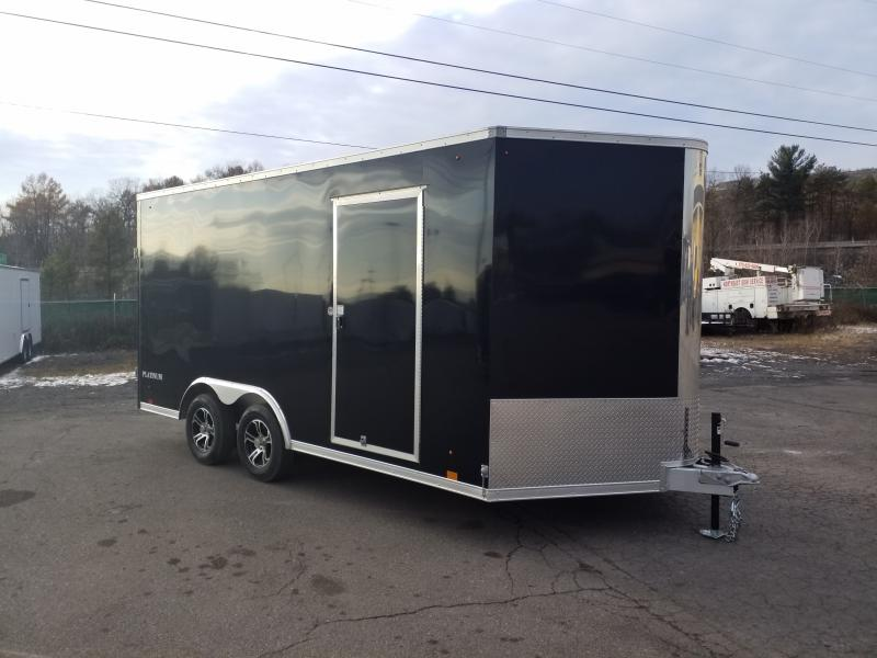 2020 Look Trailers APCH 8.5X16 ALUMINUM UTV HEIGHT Car / Racing Trailer
