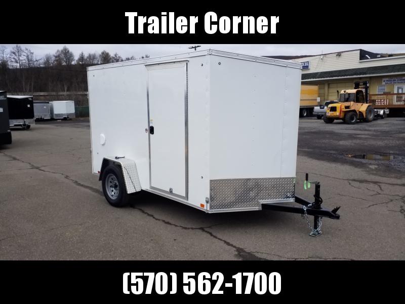 2021 Cargo Express EX 6X10 RAMP DOOR Enclosed Cargo Trailer