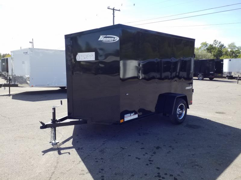 2020 Formula CONQUEST 6X10 BLACK OUT Enclosed Cargo Trailer