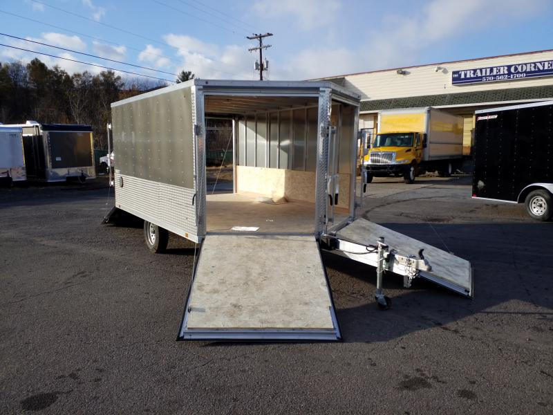 2020 Look Trailers AEDFT 8.5X12 ALUMINUM Snowmobile Trailer