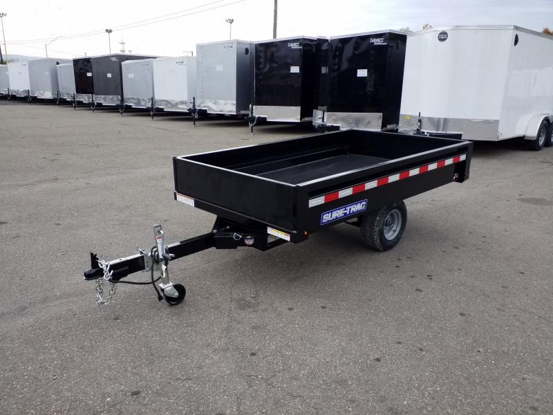 2020 Sure-Trac 4.5X8 HOME OWNER Dump Trailer
