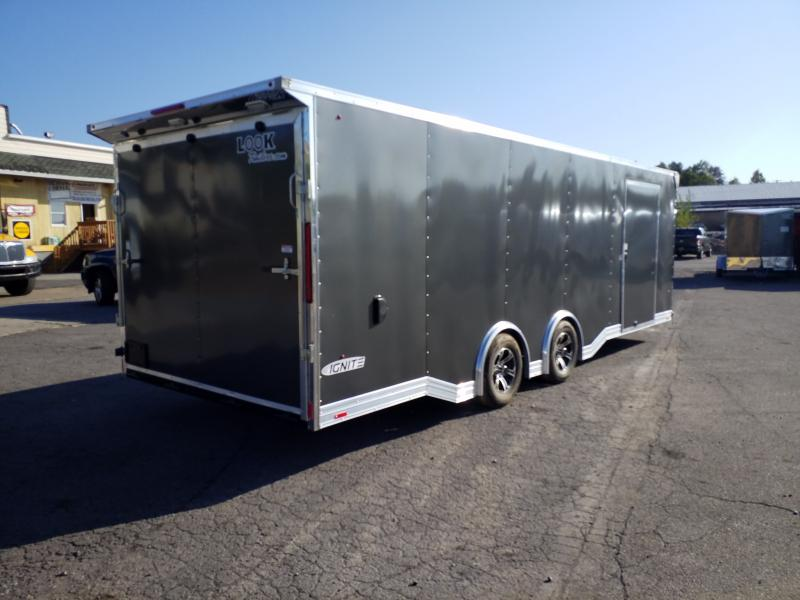 2020 Look Trailers ILRT 8.5X24 10K LOADED Car / Racing Trailer