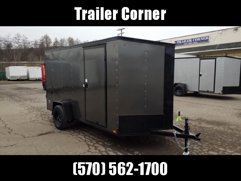 2021 Look Trailers STLC 6X12 BLACKED OUT Enclosed Cargo Trailer
