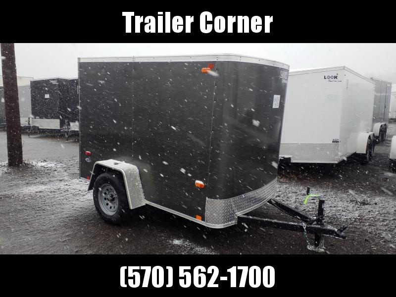 2021 Look Trailers ST 5X8 BARN DOOR Enclosed Cargo Trailer