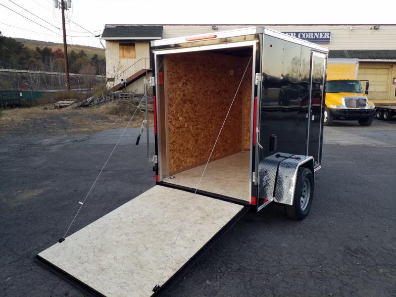 2020 Look Trailers STLC 5X8 DLX RAMP-SIDE DOOR Enclosed Cargo Trailer