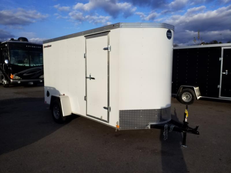 2020 Wells Cargo FT 6X12 RAMP DOOR Enclosed Cargo Trailer