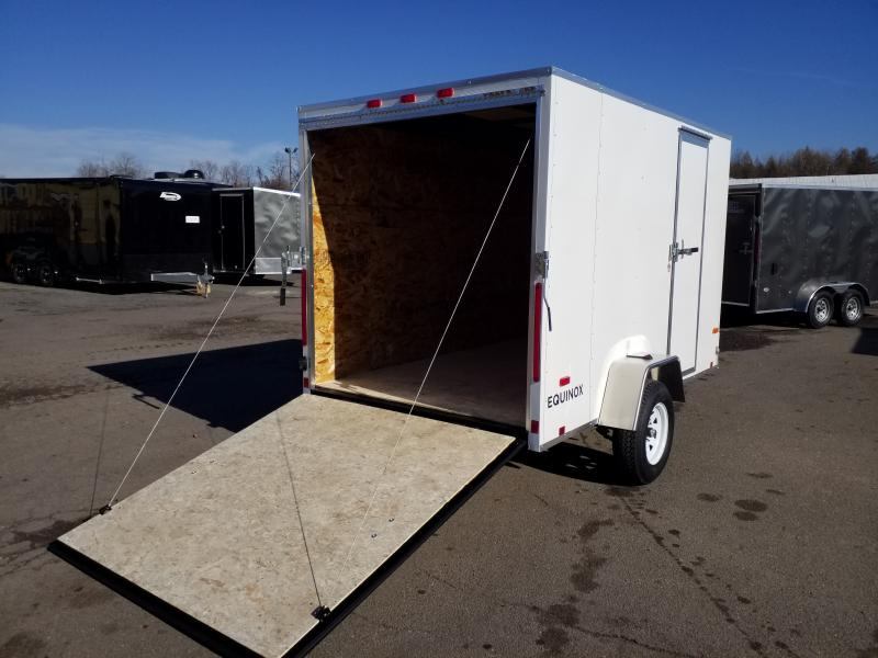 2020 Look Trailers EQUINOX 6X10 RAMP DOOR Enclosed Cargo Trailer